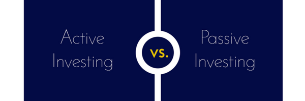 Active versus pasive investing
