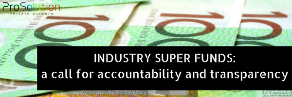 Industry super funds