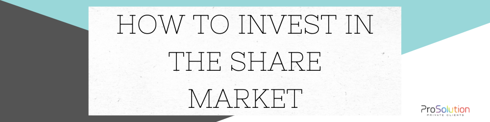 share market investment strategy